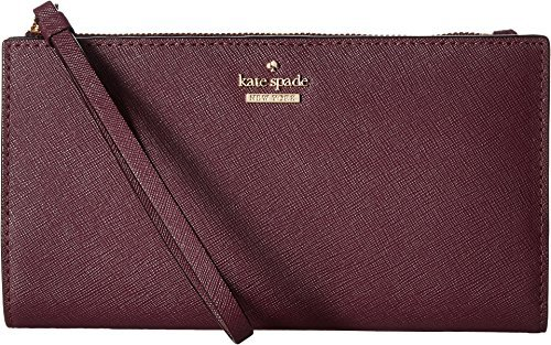 Kate Spade New York Women's Cameron Street Eliza Wristlet, Deep Plum, One Size by Kate Spade New York