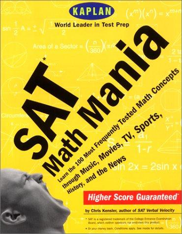 SAT Math Mania (Kaplan SAT Math Mania)