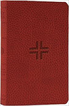 ESV Thinline Bible (TruTone, Brick, Crossroads Design)