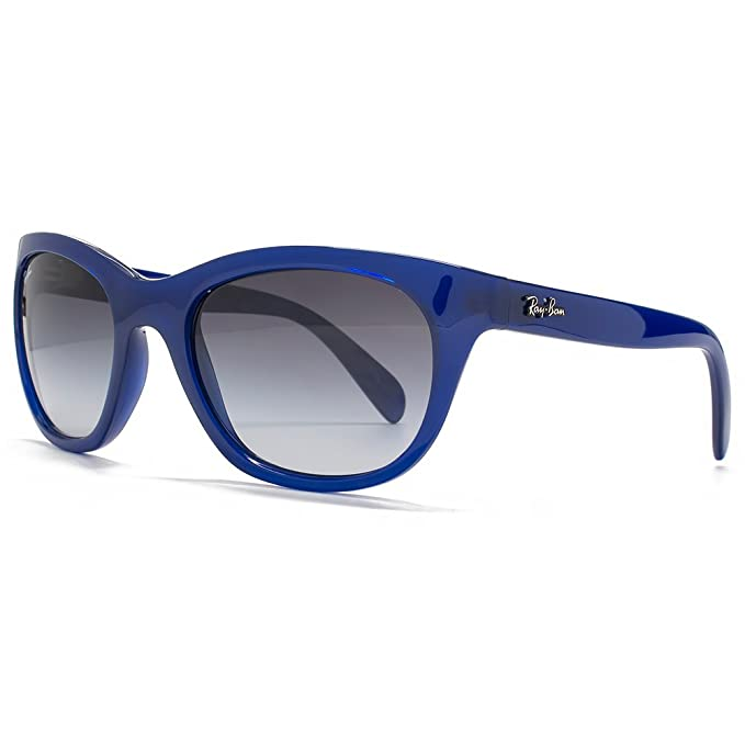 e7d654de883 Ray-Ban Cateye Sunglasses in Opal Blue RB4216 60058G 56  Amazon.ca   Clothing   Accessories