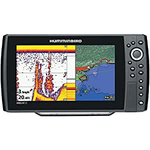 Humminbird 409960 1 helix 10 sonar gps for Phone fish finder