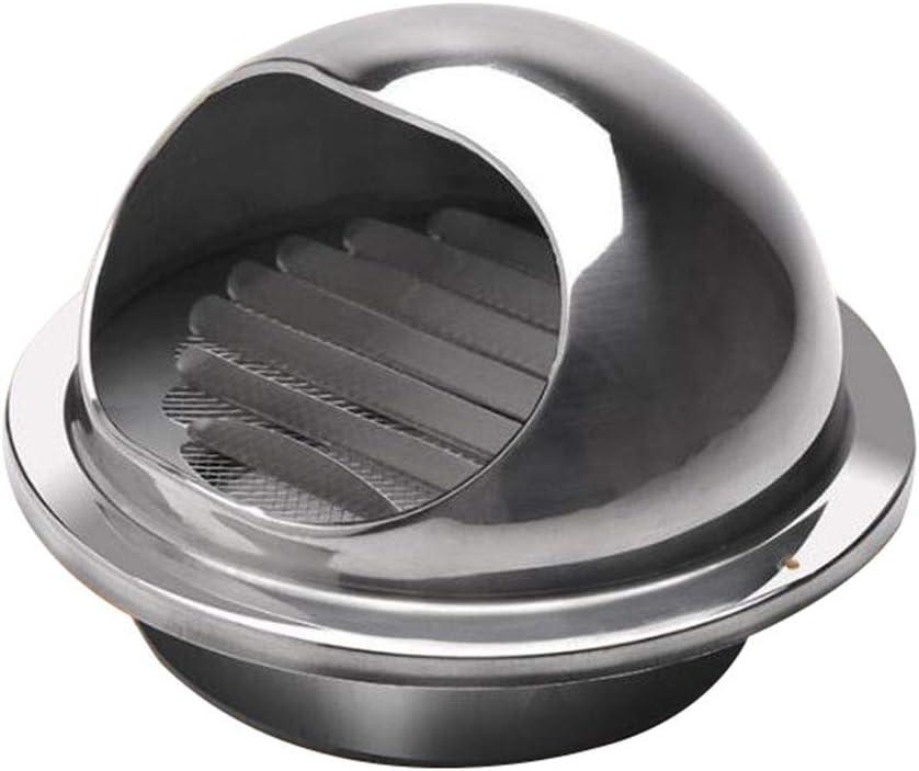 LXLTL Rejilla De Ventilación Acero Inoxidable Vent Cowl para Todos Los Sistemas de Ventilación de Ventilación de Pared,300mm: Amazon.es: Hogar