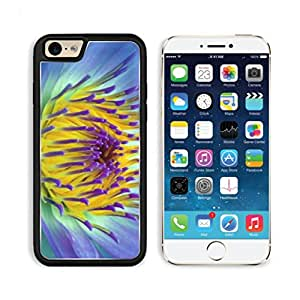 Yellow flowers purple dotted Mogo Outlet iPhone 6 Cover Premium Aluminium Design TPU Case Open Ports Customized Made to Order