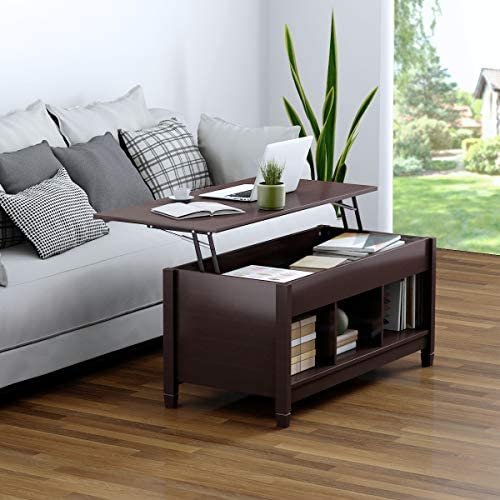 home, kitchen, furniture, living room furniture, tables,  coffee tables 1 image TANGKULA Coffee Table Lift Top Wood Home Living in USA