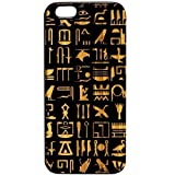 Egyptian Hieroglyphics Black Bamboo # 1186 iPhone 6/6s