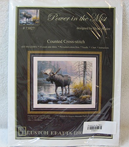Power in the Mist Counted Cross Stitch Kit 73027 - Dylan Allaire