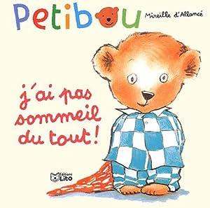 Album J'ai pas sommeil du tout ! [French] Book