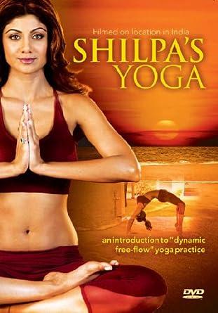 Shilpas Yoga DVD Amazoncouk Shilpa Shetty Blu Ray