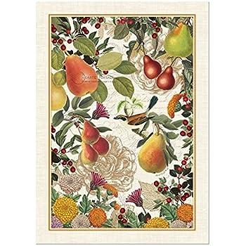 High Quality Michel Design Works Golden Pear Cotton Kitchen Towel, Orange Part 13