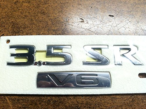 Chrome Deck Lid (2010-2012 Nissan Altima 3.5 SR & V6 Chrome Trunk Deck Lid Emblem Decal OEM NEW 84896-ZX10A)