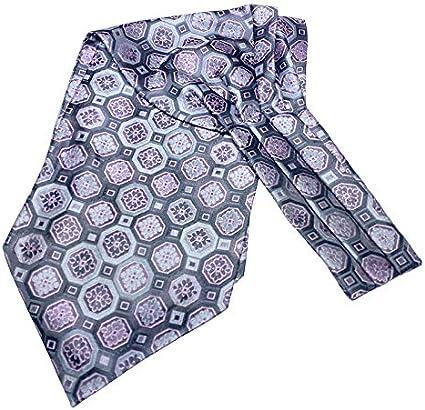 COMVIP Hombres Retro Paisley poliéster mal camisa de la corbata de la bufanda Ascot Estilo A Corbata de la bufanda: 117 * 15.5cm # 01: Amazon.es: Ropa y accesorios