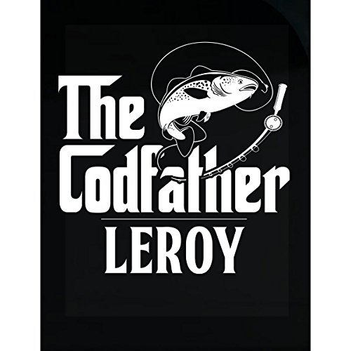 My Family Tee The Codfather Leroy Custom Name Fishing Fathers Day - (Leroy Tee)