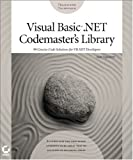 Visual Basic .NET Codemaster's Library, Matt Tagliaferri, 078214103X