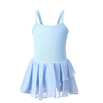 ffa2bfbf10d7 Amazon.com  Funnmart Girls Ballet Leotard Black Ballet Dress s Dance ...