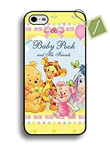 PHONECASEHOO Cell Phone Rugged Cases For Iphone 6 Plus/5.5 Hard Case With Winnie The Pooh Bear Cool Style