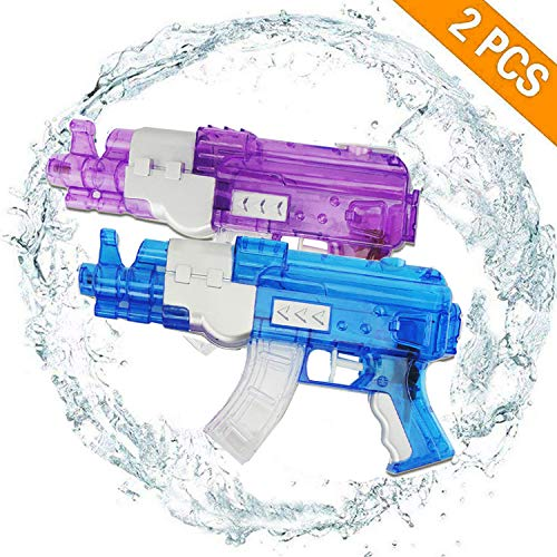 Water Blaster Super Water Gun Soaker Squirt 200CC Moisture Capacity Party and Outdoor Activity Water Fun Blaster for Kids,Water War Random Color