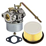 8hp tecumseh air cleaner - HIFROM Replace Carburetor Carb with Gasket for Tecumseh 631918 HS40 4HP HS50 5HP Engine with Air Filter for 30727 30604