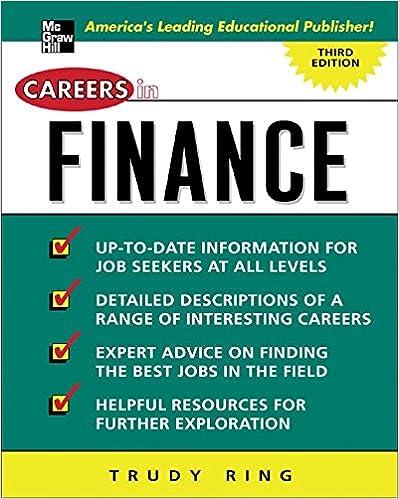 Amazon com: Careers in Finance (Careers in…Series) eBook