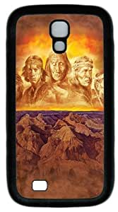 Cool Painting Samsung Galaxy I9500 Cases & Covers -Grandfathers Native American Custom PC Soft Case Cover Protector for Samsung Galaxy S4/I9500