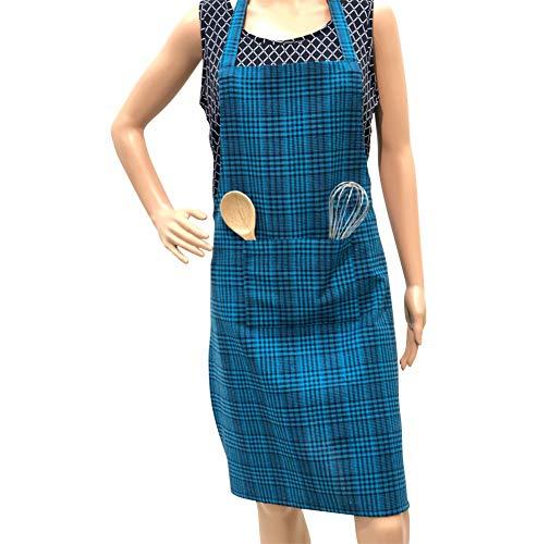 PIXEL HOME © Cotton Apron100% Cotton with Front Center Pocket with End Random Colour