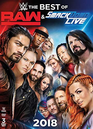 WWE: Best of RAW and SmackDown 2018 (DVD)