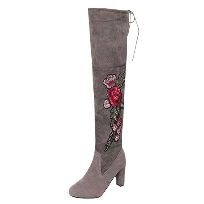 ABCone Scarpe Donna Eleganti, Donne Stivali Invernali