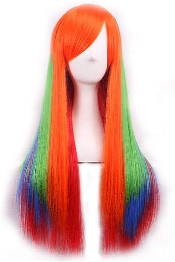 PULLEY-C Color degradado peluca consecutiva para el cabello ...