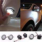 2pcs set High power white LED Under Side rear tow