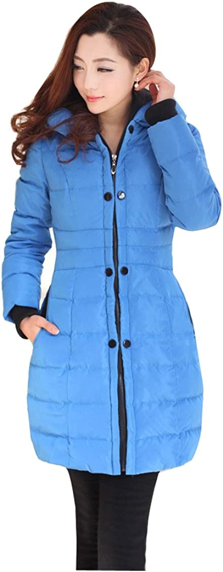 Fashion con capucha invierno Gaorui de pinceles de fibra pantalones de deporte para mujer fina abrigos globo abrigo acolchado para mujer con chaqueta de