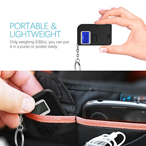 Homasy Breathalyzer, Mini Keychain Digital Breathalyzer, Portable Keyring Breath Alcohol Tester, by Homasy (Image #1)