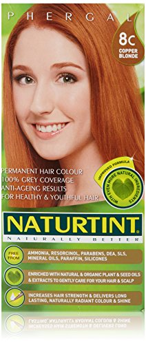 Naturtint Permanent Hair Colors 8C Copper Blonde