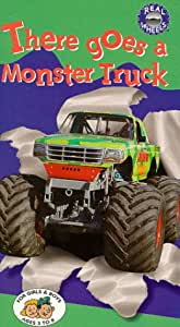 Amazon Com There Goes A Monster Truck Vhs Real Wheels