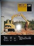 Caterpillar 308C CR Hydraulic Excavator Sales Brochure Original