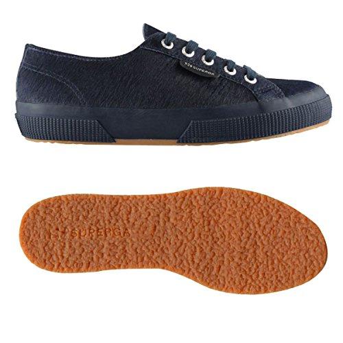 NAVY Unisex 2750 Leahorseu Sneaker adulto Superga BLUE qvSYnpw