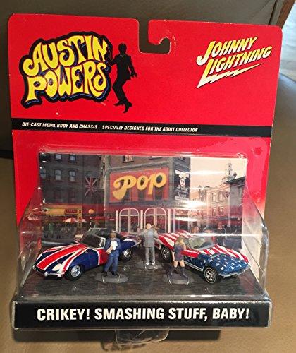 Johnny Lightning Austin Powers Diorama Crikey! Smashing Stuff, Baby