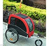 Best Pawhut Pets Strollers - PawHut 2-in-1 Pet Jogging Stroller Dog Cat Bike Review