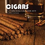 Cigars 7 x 7 Mini Wall Calendar 2019: 16 Month Calendar by Mason Landon