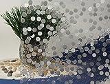 Cut Glass Bubbles, Decorative, Privacy, Static Cling Window Film (36'' x 25)