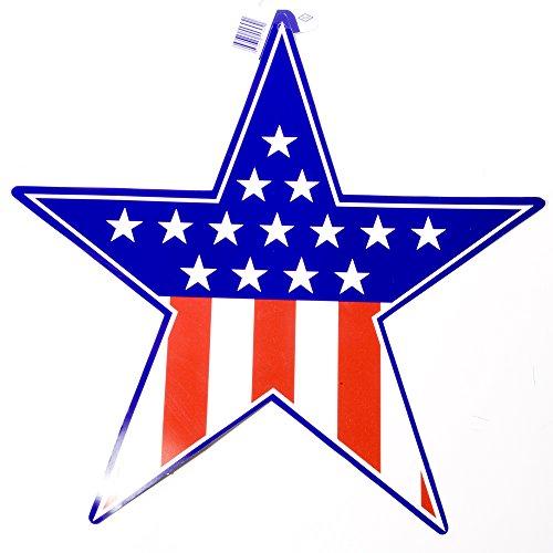 Patriotic Star Cutout
