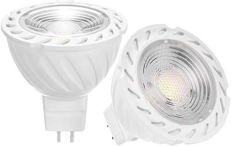 MR16 GU5.3 6W 12V AC DC Dimmable LED Spotlight Light Bulb 500lm 50W Lamp YAYZA