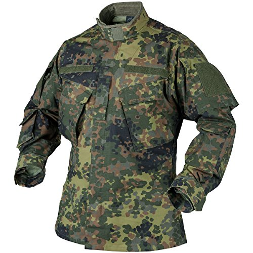 Helikon Men's CPU Shirt PolyCotton Ripstop Flecktarn size XXL by HELIKON-TEX