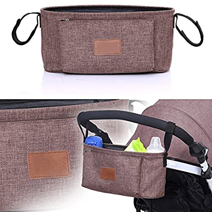 Wuuudi Universal Baby Carriage Bag Outdoor Baby Cart Storage Bag Kinderwagen Organizer