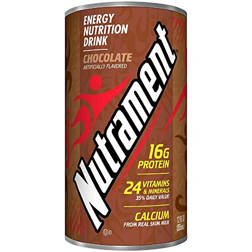 Nutrament Chocolate Complete Nutritional Beverage, 12 Fluid Ounce Can -- 12 per case.