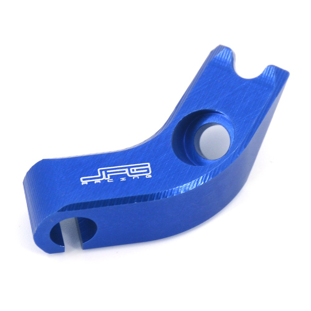 JFG RACING Abrazadera de aluminio CNC para Yamaha WR250F 2001-2014, color azul