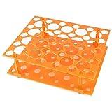 Preamer Plastic Test Tube Rack Holder for 10ML/15ML/50ML Conical Test Tubes