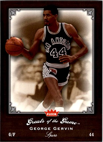 2005-06 Greats of the Game #39 George Gervin from Greats of the Game