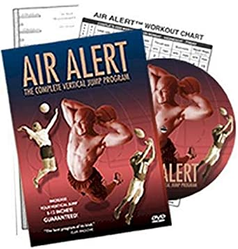 Amazoncom Air Alert The Complete Vertical Jump Program Donovan