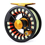 Maxcatch Tail Fly Fishing Reel Waterproof Light Weight Large Arbor Teflon Disc