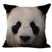HomeTaste Cute Animals Decorative Throw Pillow Cover 18x18 Inch Couch Sofa Cushion Case