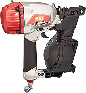 Max CN445R3 Superroofer Roofing Coil Nailer,